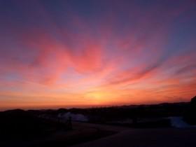 Wenn der Himmel brennt über Norderney Sonnenaufgang